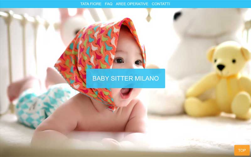 Sito responsive babysitter